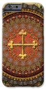 Mandala Armenian Cross Sp IPhone Case by Bedros Awak