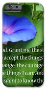 Morning Glory Serenity Prayer IPhone 6s Case
