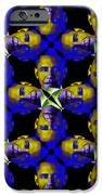 Obama Abstract 20130202m118 IPhone Case by Wingsdomain Art and Photography