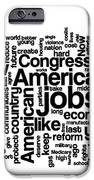 Obama State Of The Union Address - 2013 IPhone Case by David Bearden