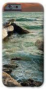 Ocean Waves Lapping At A Shoreline IPhone 6s Case by Alexandr  Malyshev