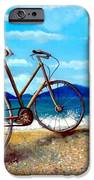 Old Bike At The Beach IPhone 6s Case by Kostas Koutsoukanidis