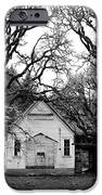 Old School House In The Woods IPhone Case by Thomas J Rhodes
