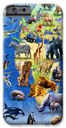 One Hundred Endangered Species IPhone Case by Adrian Chesterman