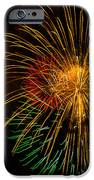 Orange Yellow Green Fireworks Galveston IPhone 6s Case by Jason Brow