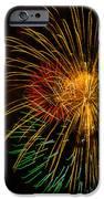 Orange Yellow Green Fireworks Galveston IPhone 6s Case