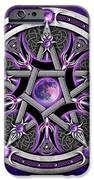 Pentacle Of The Purple Moon IPhone 6s Case by Richard Barnes