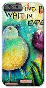 Praying And Waiting Bird IPhone 6s Case by Lauretta Curtis