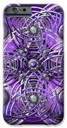 Purple And Silver Celtic Cross IPhone 6s Case by Richard Barnes