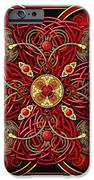 Red And Gold Celtic Cross IPhone 6s Case by Richard Barnes