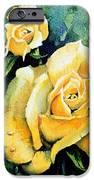 Roses 5 IPhone Case by Hanne Lore Koehler