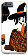Sitting Halloween Witch IPhone 6s Case by Eva Thomas