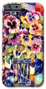 Stained Glass Pansies IPhone 6s Case