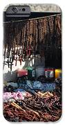 Street Vendor Selling Rosaries IPhone Case by Amy Cicconi