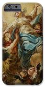 Study For The Assumption Of The Virgin IPhone Case by Jean Baptiste Deshays de Colleville