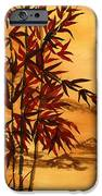 Sumi-e Red Bamboo IPhone 6s Case by Diane Ferron