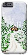 The Cabin IPhone 6s Case by Judy M Watts-Rohanna
