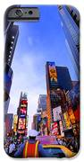 Traffic Cop In Times Square New York City IPhone Case by Amy Cicconi