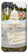 United States Capital Building At Legoland IPhone Case by Edward Fielding