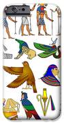 Various Themes Of Ancient Egypt IPhone Case by Michal Boubin