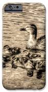 Baby Ducks - Sepia IPhone 6s Case by Sergio Aguayo