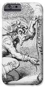 Thomas Paine Caricature IPhone Case by Photo Researchers