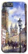 Prague Old Town Square 01 IPhone Case by Yuriy  Shevchuk