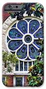 1901 Antique Uab Gothic Stained Glass Window IPhone Case by Kathy Clark