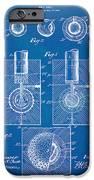 1902 Golf Ball Patent Artwork - Blueprint IPhone Case by Nikki Marie Smith