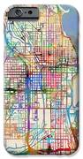 Chicago City Street Map IPhone 6s Case by Michael Tompsett