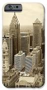 Aerial View Philadelphia Skyline Wth City Hall IPhone Case by Jack Paolini