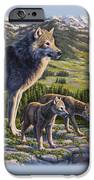 Wolf Painting - Passing It On IPhone 6s Case by Crista Forest