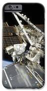 Astronauts Perform A Series Of Tasks IPhone Case by Stocktrek Images