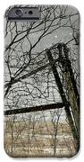 At The End...fence Post IPhone 6s Case by Stephanie Calhoun