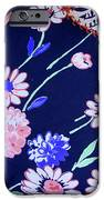 Blue On Blue IPhone Case by Bonnie Bruno