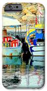 Happy And Colorful Boats In Their Own Company  IPhone 6s Case by Hilde Widerberg