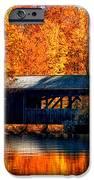 Covered Bridge IPhone Case by Joann Vitali