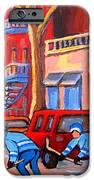 Debullion Street Hockey Stars IPhone Case by Carole Spandau