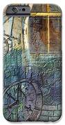 Face In The Window Embossed Montage IPhone Case by Arline Wagner