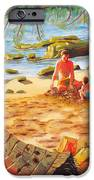 Family Day At Jobos Beach IPhone 6s Case