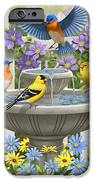 Fountain Festivities - Birds And Birdbath Painting IPhone 6s Case by Crista Forest