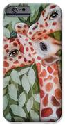 Giraffe Trio By Christine Lites IPhone 6s Case by Allen Sheffield