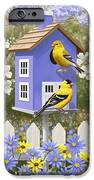 Goldfinch Garden Home IPhone 6s Case by Crista Forest