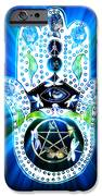 Hamsa Hand Indigo Energy IPhone 6s Case by Eva Thomas
