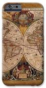Henry Hondius Seventeenth Century World Map IPhone 6s Case by Skye Ryan-Evans