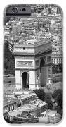 In Paris Bw IPhone Case by Kamil Swiatek