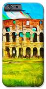 Italian Aerobatics Team Over The Colosseum IPhone 6s Case