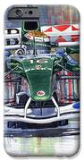 Jaguar R3 Cosworth F1 2002 Eddie Irvine IPhone Case by Yuriy  Shevchuk
