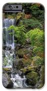 Japanese Garden Waterfall IPhone Case by Sandra Bronstein