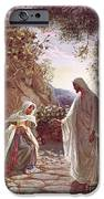 Jesus Revealing Himself To Mary Magdalene IPhone Case by William Brassey Hole